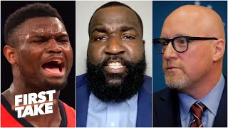 This is why people call our league soft! - Perk on David Griffin's Zion comments | First Take