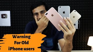 Warning Old iPhone users | 2020 iPhone leaks | Apple news