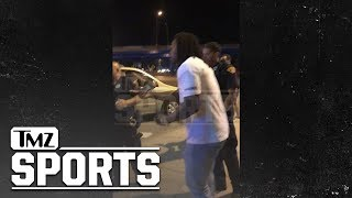 Kareem Hunt Video with Cops After 'Small Argument' with Friend   TMZ Sports