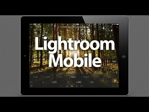 Introduction To Lightroom Mobile - PLP #114 By Serge Ramelli - Smashpipe Education