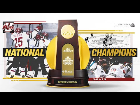 UMass vs. St. Cloud State - 2021 Frozen Four national championship highlights