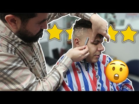 Getting a HAIRCUT At The BEST REVIEWED BARBER In My City (6 STAR)