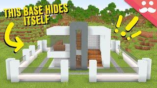 My Dream Hidden Base in Minecraft