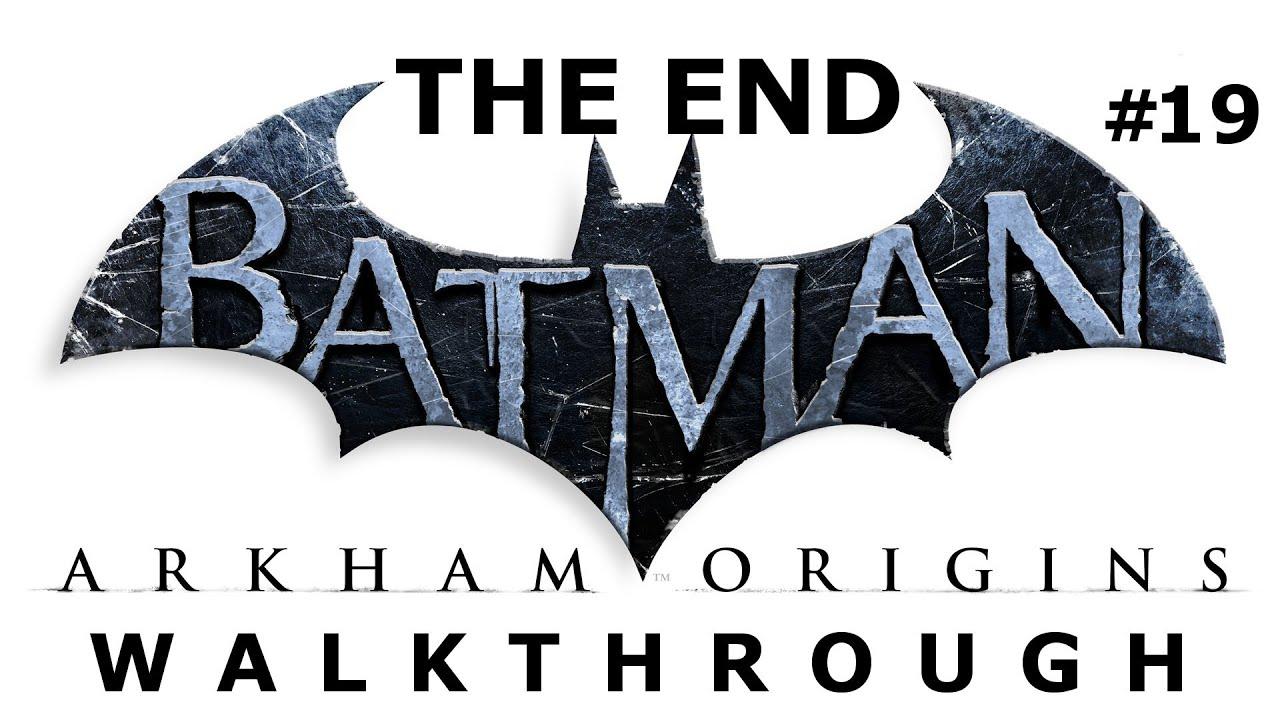 Batman Arkham Origins Walkthrough! - Magazine cover