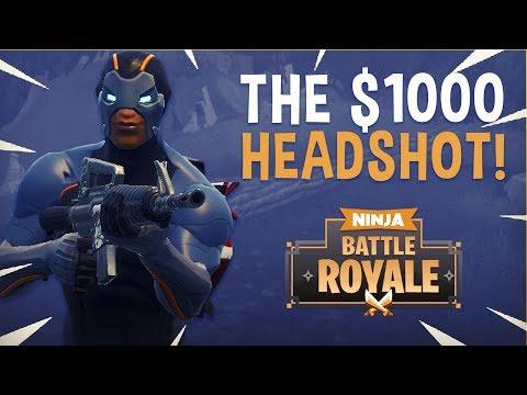The $1000 Headshot?! - Fortnite Battle Royale Highlights - Ninja
