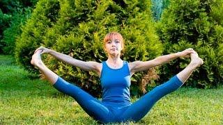 Йога для похудения для начинающих | Упражнения для пресса