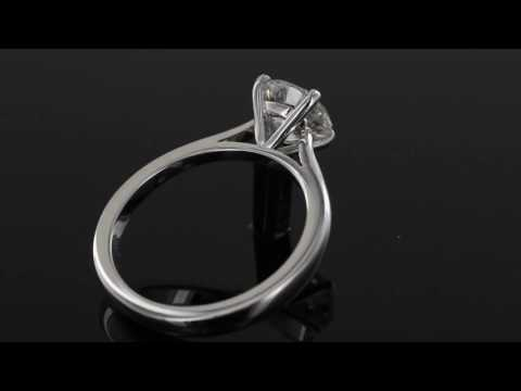Browns Family Jewellers Large Diamond Solitaire Ring