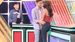 JaDine super sweet sa taping ng FAMILY FEUD- May 2,2017