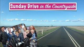 SUNDAY Drive & The KIDS Come Home | Australian Family Vlog