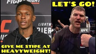 """""""He's going to have to convince me to fight Jon Jones, Stipe Miocic is the fight"""", Hooker on Poirier"""