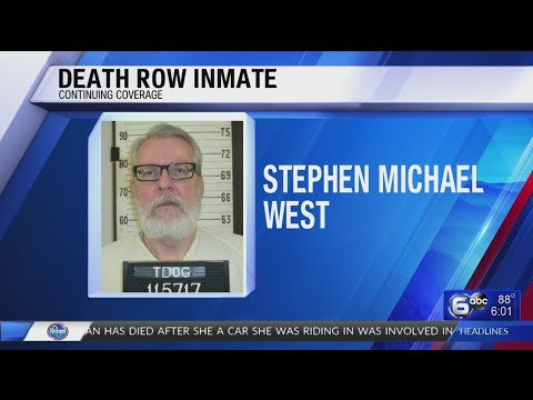 Execution scheduled for death row inmate tonight