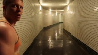 Sneaking into The Abandoned Cleveland Underground Subway System Part 1