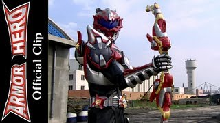 Fights with the Crocdile Monster - Armor Hero Official English Clip [HD 公式] - 12