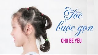 Cute Little Girl's Hairstyle Tutorial | Quick And Easy Hairstyles For School | Hairstyle For Kids