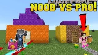 Minecraft: NOOB VS PRO!!! - Pumpkin Party - Mini-Game