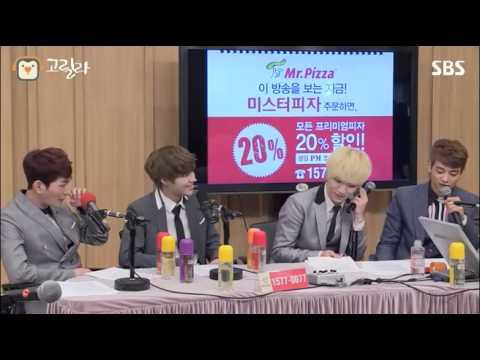 [SBS]컬투쇼, 샤이니의 술버릇, 친구를 숙소로 데려오는 키가 싫은 태민