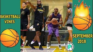 Basketball vines #4 | SAUCY HIGHLIGHTS!!