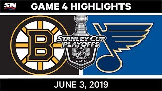 NHL Highlights | Bruins vs. Blues, Game 4 – June 3, 2019