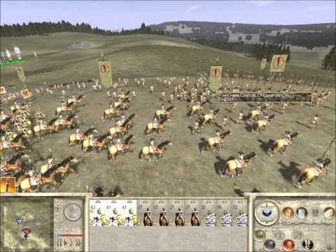 Rome Total War Online Battle #1999: 6 player Free-For-All