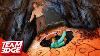 Who Will Survive the Collapsing Path!? | Escape Series!!