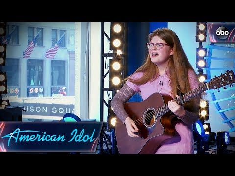 Catie Turner Auditions for American Idol With Quirky Original Song - American Idol 2018 on ABC