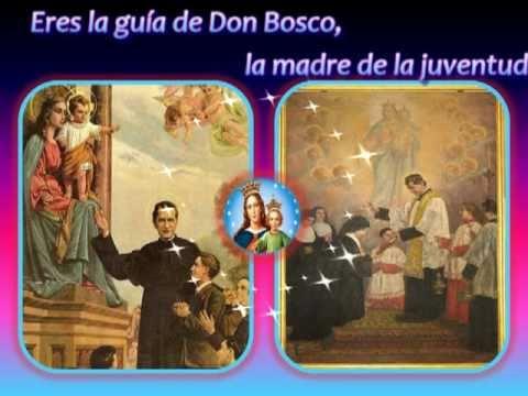 CANCION AUXILIADORA DE DON BOSCO con letra KARAOKE VIRGEN MARIA AUXILIADORA