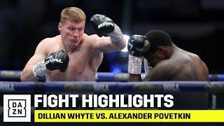 HIGHLIGHTS | Dillian Whyte vs. Alexander Povetkin