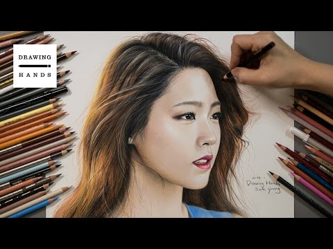 Speed Drawing  AOA - Seolhyun [Drawing Hands]