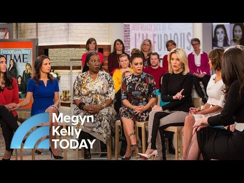 TIME Magazine's Person Of The Year Silence Breakers : 'We're Finding Our Voices' | Megyn Kelly TODAY