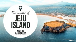 Jeju Island Korea Travel Guide + Attractions Map