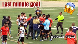 Sunday League Soccer Fight - Giveaway Rules *Heated Game*