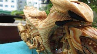 Lạ mắt với Exciter 150… gỗ