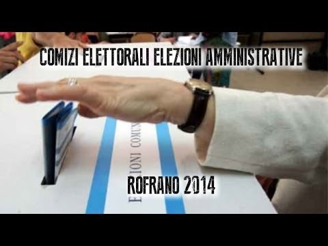 Rofrano comizi elettorali elezioni amministrative 2014