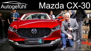 Mazda CX-30 all-new SUV REVIEW (Mazda CX-4) - Autogefühl
