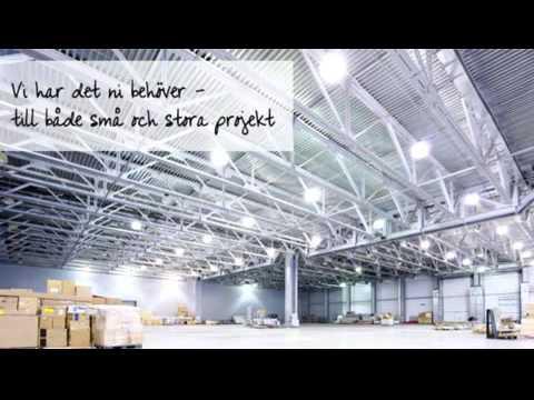 Super kraftfull LED high bay belysning finns på Sirled.se