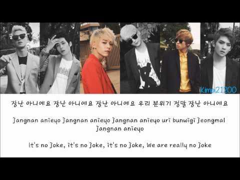 Teen Top - Rocking (장난아냐) [Hangul/Romanization/English] Color & Picture Coded HD