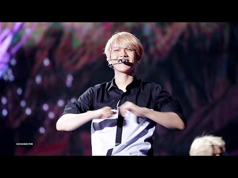 150912 The EXO'luXion in Chongqing - 나비소녀 (백현 focus)