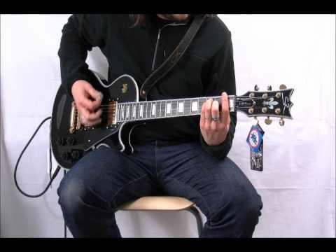 SR Guitars SRLP Luxe son clair accord