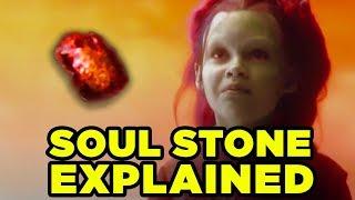 SOUL STONE Explained- Soul World & Gamora's Fate Revealed?