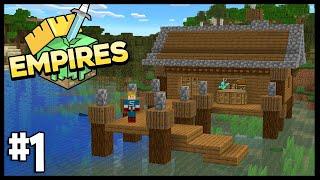 STARTING MY OWN EMPIRE!!   Minecraft Empires 1.17 SMP   #1