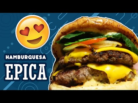 CheeseBurger || NATIONAL BURGER DAY | Epic Street Food