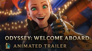 League of Legends - Odyssey Animated Trailer