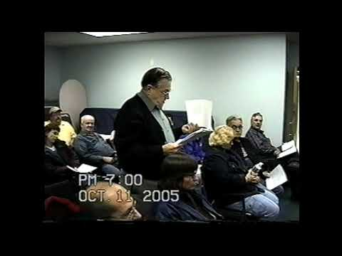 Champlain Town Board Meeting  10-11-05