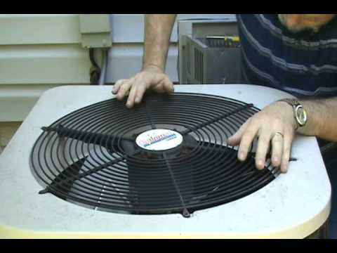 Air Conditioner Fan Replacement Wmv Youtube