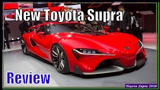 Toyota Supra 2018 | New Toyota Supra FT-1 2018 Specs And Review
