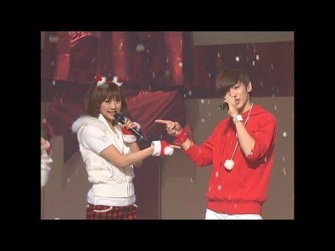 【TVPP】SHINee - Christmas Carol (with KARA), 샤이니 - 크리스마스 캐롤 (with 카라) @ Show Music core Live
