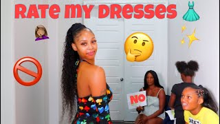 MOM AND DAUGHTER'S RATE MY DRESS HAUL!!