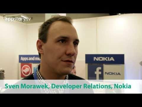 """Sven Morawek, Nokia: """"Warum Apps für Nokia entwicklen"""""""