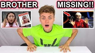 MY BROTHER STEPHEN SHARER IS MISSING!! (HAUNTED ABANDONED FOREST)