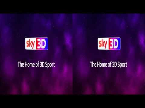Sky 3D UK - Adverts & Continuity - June 2014